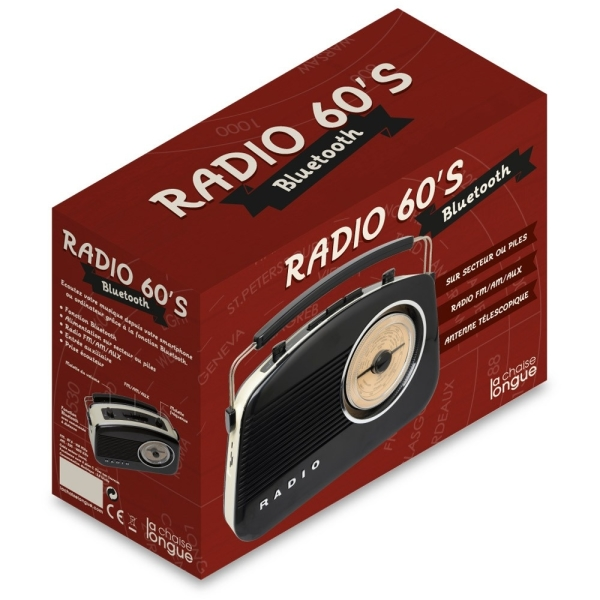 Radio 60's Noire Bluetooth on