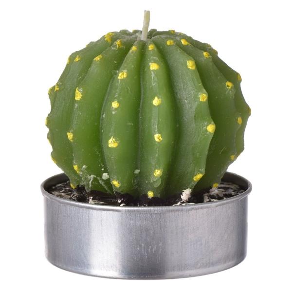 petite bougies cactus lot de 6. Black Bedroom Furniture Sets. Home Design Ideas