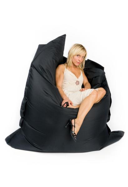 Sit On It pouf noir, pouf poire original sit on it noir
