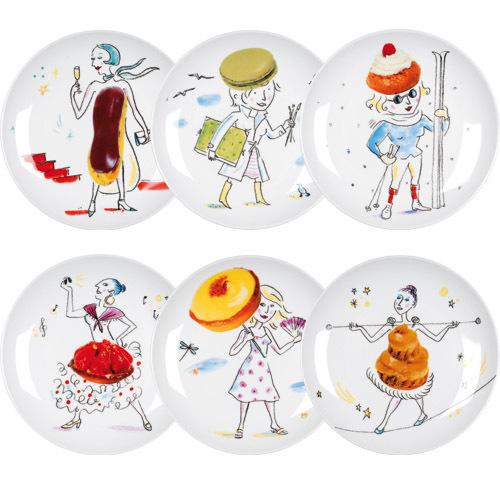 Gourmandes Longue Les Dessert La Assiettes Chaise O8nk0wPX