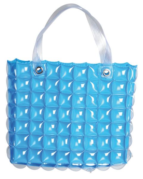 sac de plage gonflable bleu. Black Bedroom Furniture Sets. Home Design Ideas