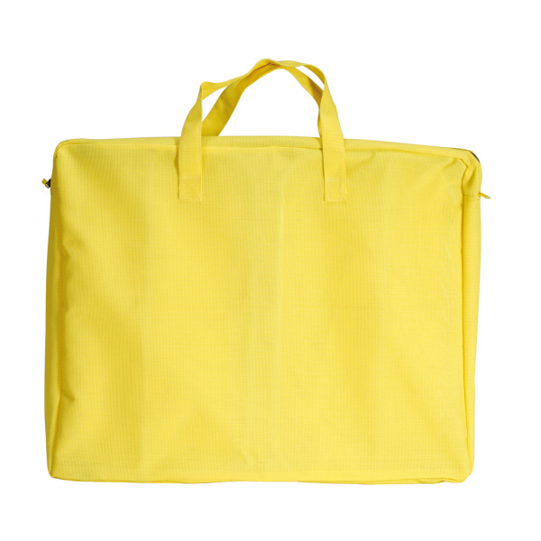 lit de plage avec sac jaune. Black Bedroom Furniture Sets. Home Design Ideas