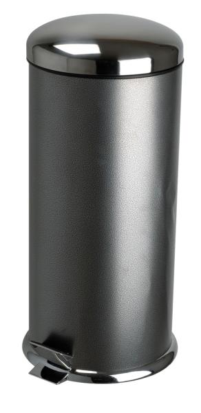 poubelle 30 litres martele. Black Bedroom Furniture Sets. Home Design Ideas