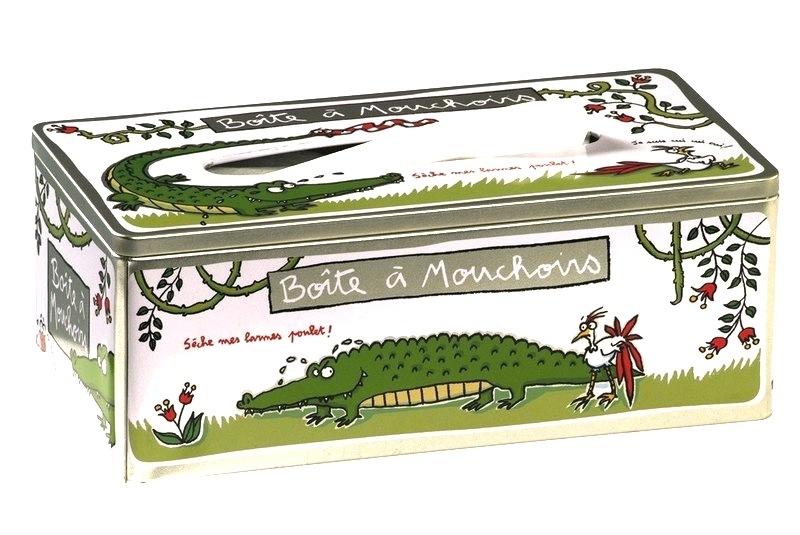 boite mouchoir crocodile. Black Bedroom Furniture Sets. Home Design Ideas