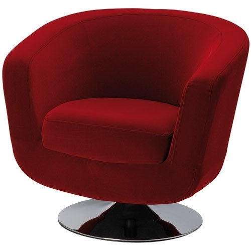 fauteuil velours rouge. Black Bedroom Furniture Sets. Home Design Ideas