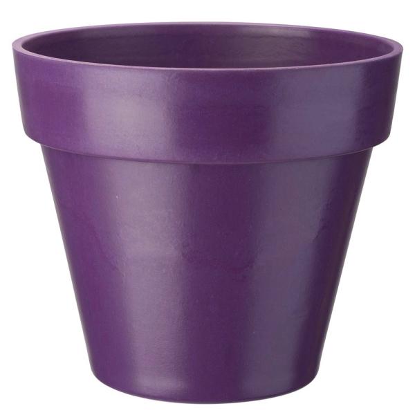 cache pot bambou violet