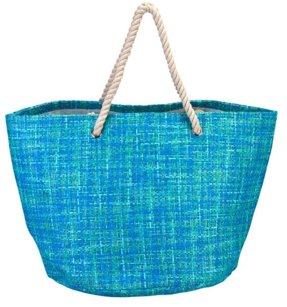 sac de plage saint trop turquoise. Black Bedroom Furniture Sets. Home Design Ideas