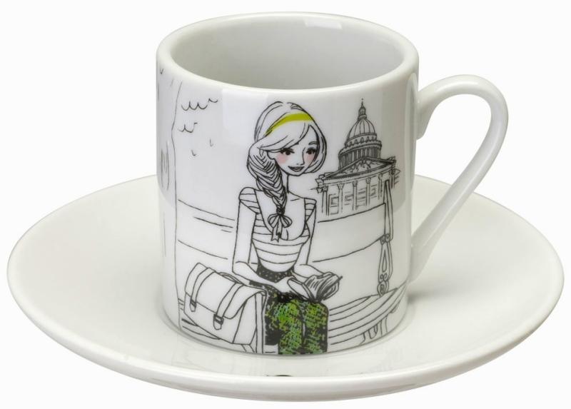 Tasses A Cafe Les Parisiennes