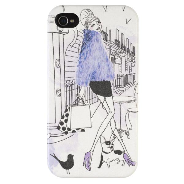 Parisiennes La Fashion Chaise Coque 4g Iphone Longue Y76yIgbfv