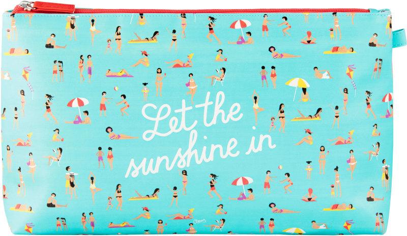Cabas de plage Let the sunshine in Derri/ère la Porte