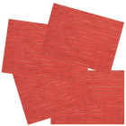 Lot de 4 sets de table Manoka corail de Winkler